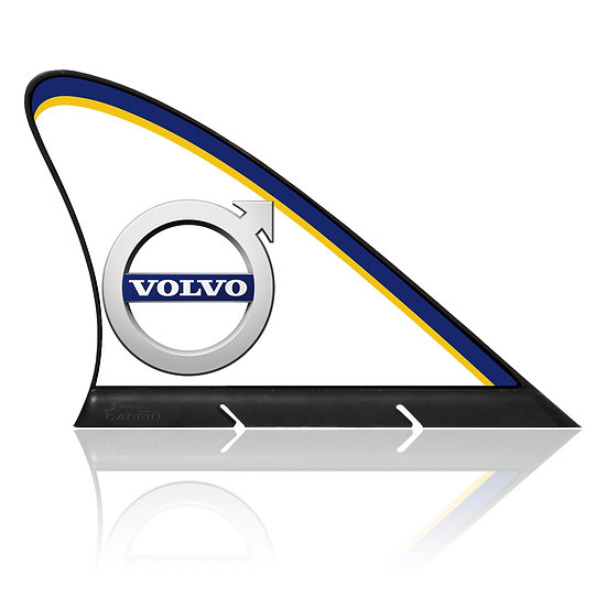 Volvo  CARFIN, Magnetic Car Flag & Car Sign.