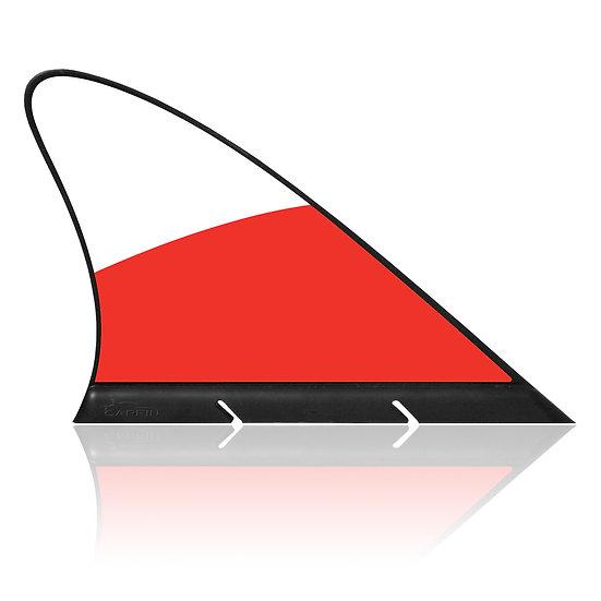 Poland CARFIN, Magnetic Car Flag & Car Sign.