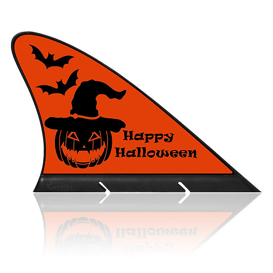 Happy Halloween CARFIN, Magnetic Car Flag  & Car Sign.