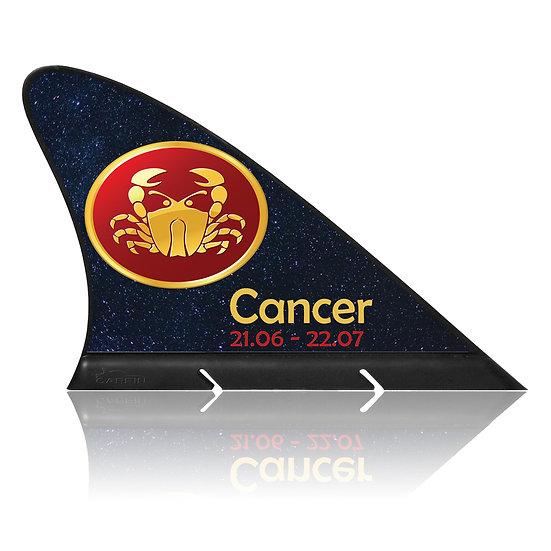 Cancer  CARFIN, Magnetic Car Flag & Car Sign.