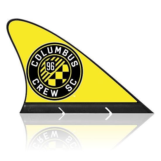Columbus Crew SC CARFIN, Magnetic Car Flag  & Car Sign.