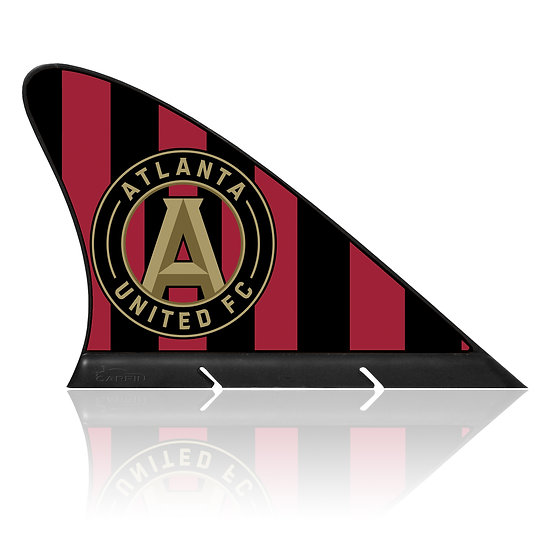Atlanta United FC CARFIN, Magnetic Car Flag  & Car Sign.