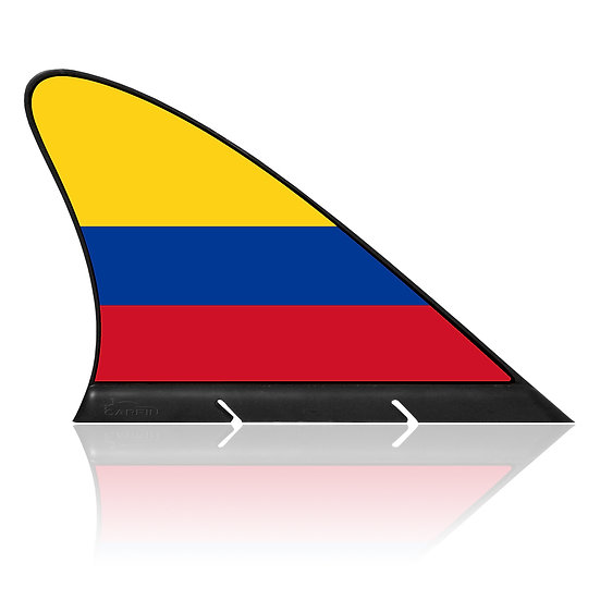 Colombia CARFIN, Magnetic Car Flag & Car Sign.