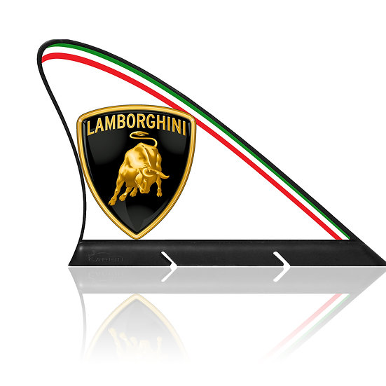 Lamborghini  CARFIN, Magnetic Car Flag &  Car Sign.