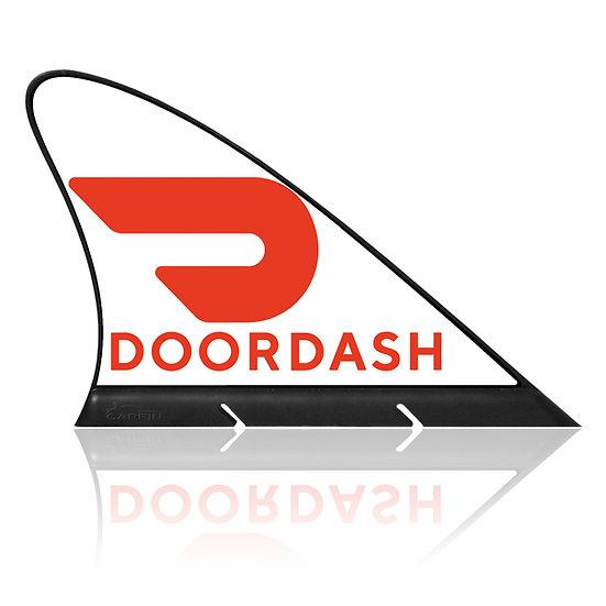 Doordash CARFIN, Magnetic Car Flag &  Car Sign.