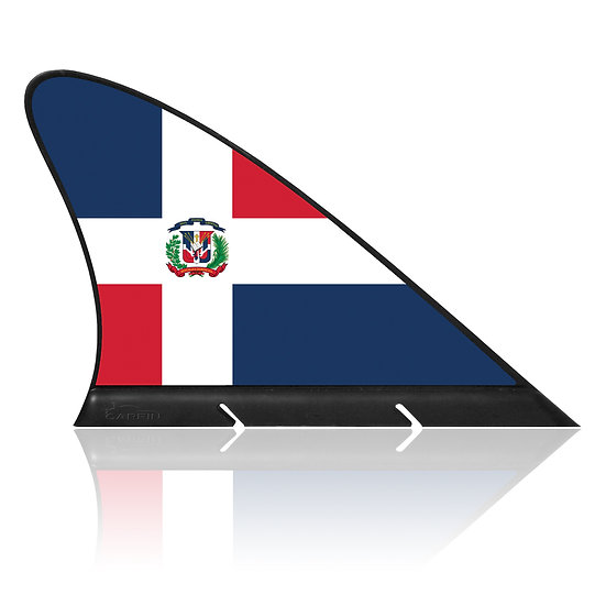 Dominican CARFIN, Magnetic Car Flag & Car Sign.