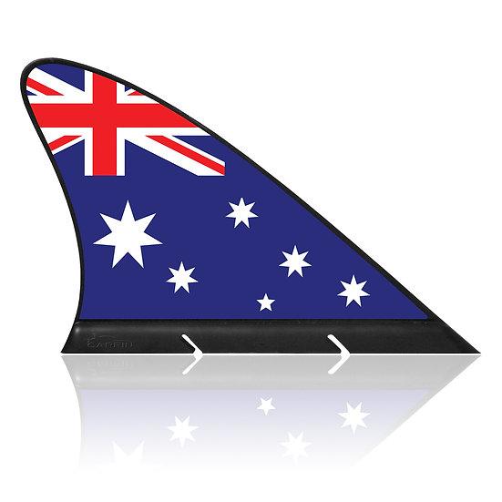 Australia CARFIN, Magnetic Car Flag & Car Sign.