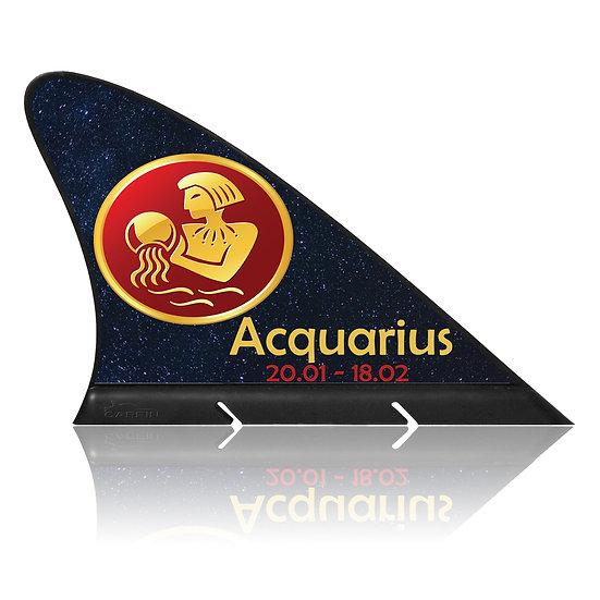 Aquarius  CARFIN, Magnetic Car Flag & Car Sign.