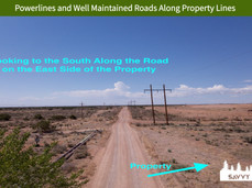 Powerlines and Well Maintained Roads Along Property Lines.jpeg