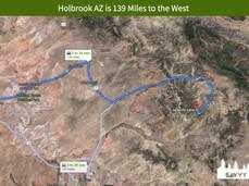 Holbrook AZ is 139 Miles to the West.jpeg