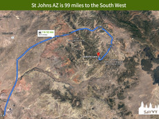 St Johns AZ is 99 miles to the South West.jpeg