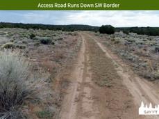 Access Road Runs Down SW Border.jpeg