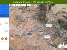 Holbrook Arizona is 138 Miles to the West.jpeg