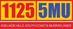 New 5MU logo 2014 white