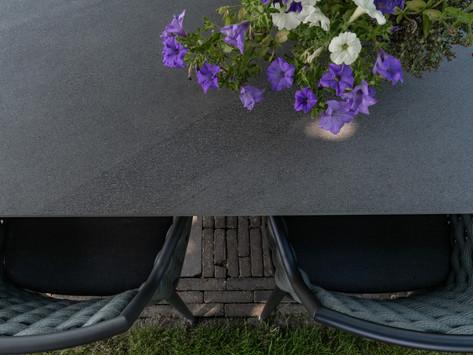 Keramische tafels, de ideale tuintafel!