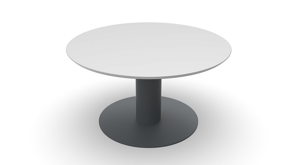 Toledo keramische tafel rond