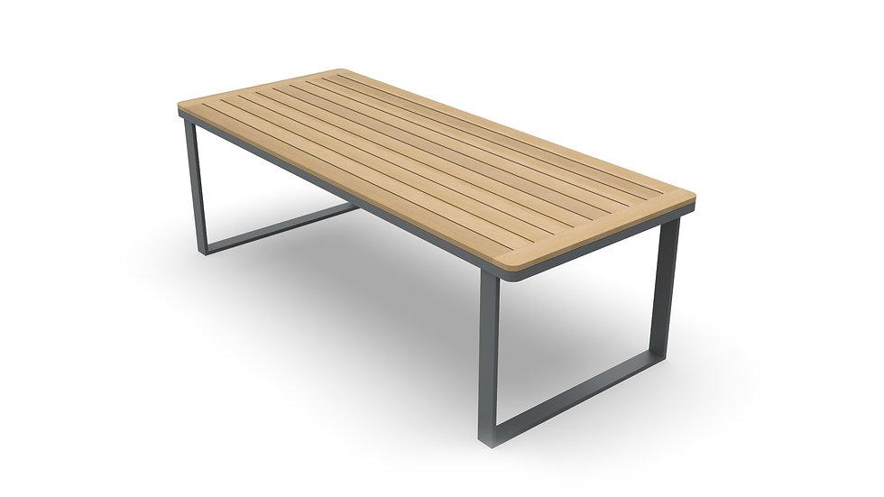Teakhouten tafel Lido