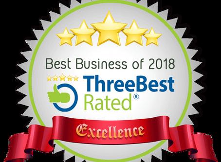 2018 Three Best Rates Award