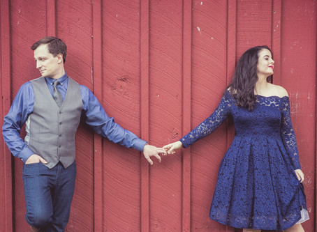 Engagement Photo Tip: Featuring Couple Mr. & Mrs. Kuperstein