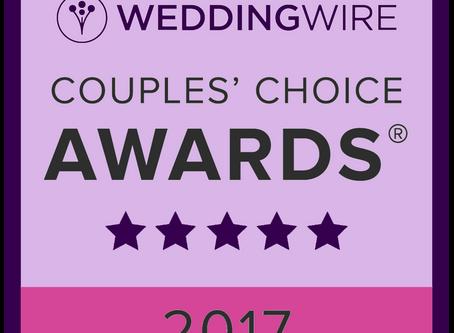 2017 WeddingWire Couples' Choice Award Winner - Taylor Made Event Planning, LLC
