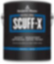 Benjamin Moore SCUFF-X Scuff Resistant Paint
