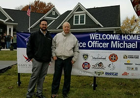 "Strothkamp's Paint Center proudly partnered with Benjamin Moore and the Gary Sinise Foundation providing the Aura paint for Officer Michael Flamion's ""smart"" home in Ballwin MO."