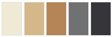 Decoración de interiores: Paleta de colores 2020