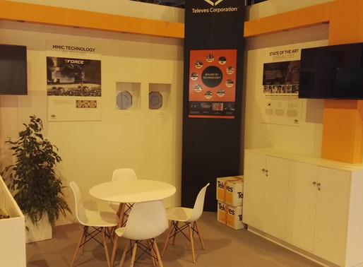 El Stand de Televes un espacio donde la tecnología y el diseño se fusionaron