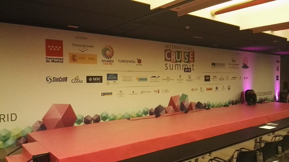 Montaje-Eventos-Internacional Cruise Summit-Di&P