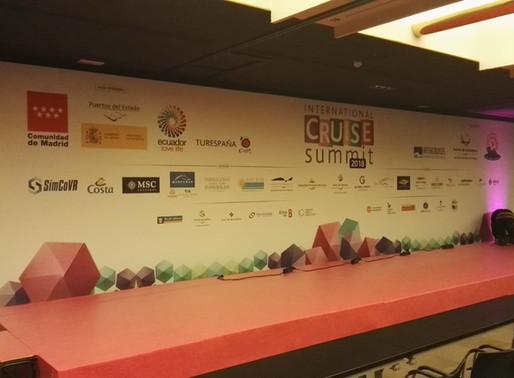 Montaje del International Cruise Summit