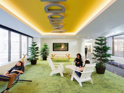 Espacios de relajación en la oficina