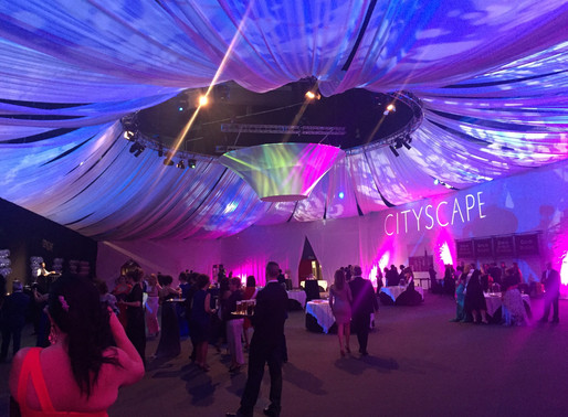 Tendencia en decoración: Techos de eventos con tela