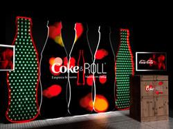 Di&P Escenario Coca Cola Stand Proyecto