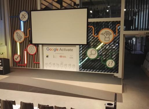 """Google invitó, sobre un escenario montado por Di&P, a los jóvenes a """"activarse"""""""