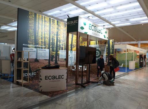¡Los electrodomésticos más green! El stand de Fundación Ecolec en CONAMA 2018