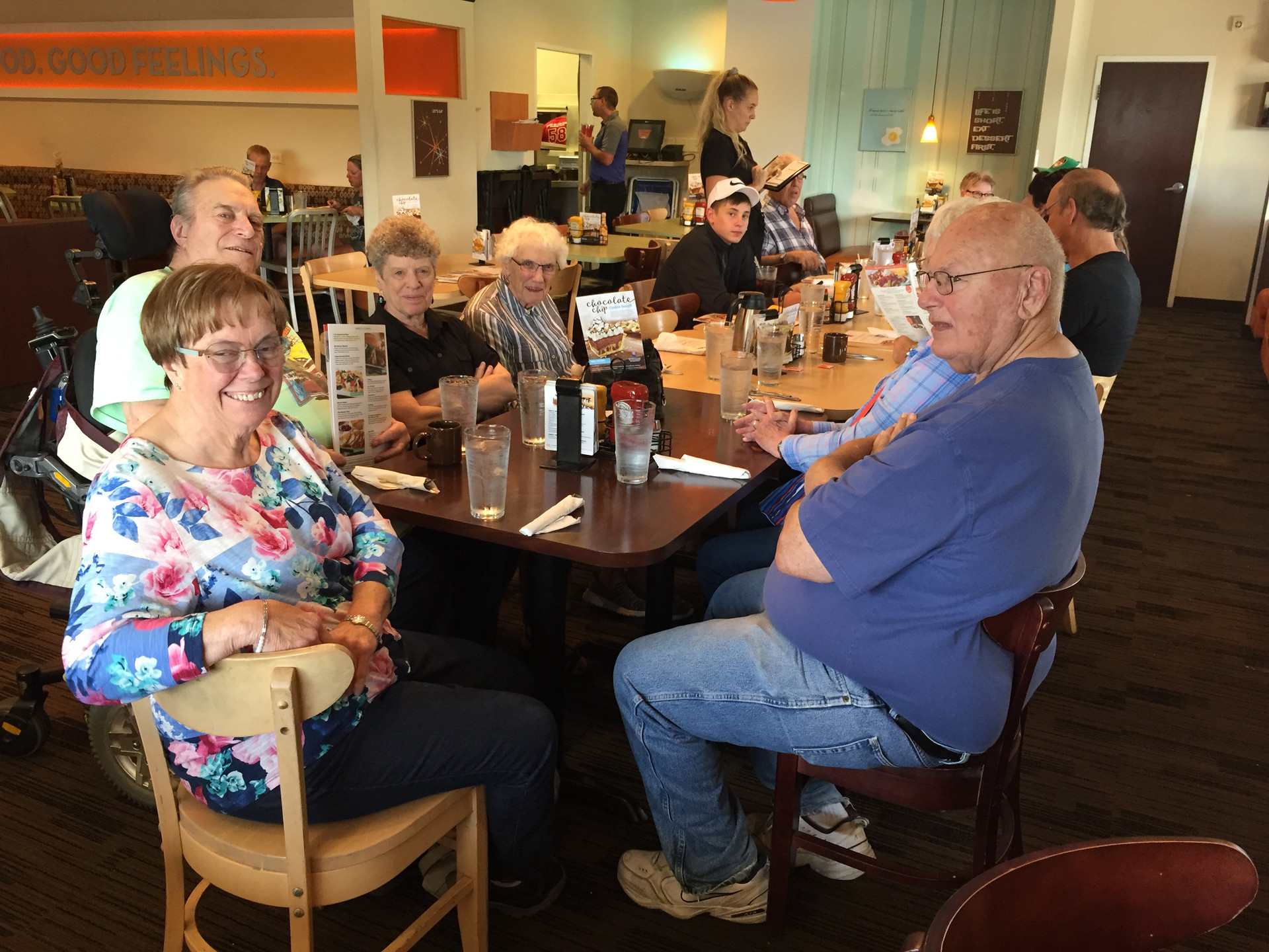 7.28.18 CCC Dining with Dorie at Village