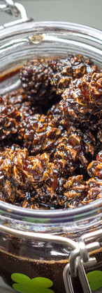 Candied pine cones