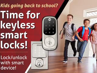Time for Keyless Smart Locks!