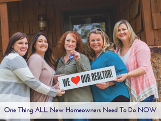 One Thing ALL New Homeowners Need to Do NOW