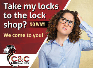 Take my locks to the lock shop?