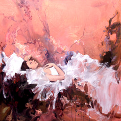 Rest In Peace  H 48in. x W 48in. x D 1.5in.   Oil on canvas