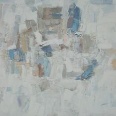 Pray To The Depths   H in. x W in. x D in.  Oil on canvas