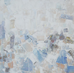 Cheering prayer  H 30in. x W 40in. x D in.  Oil on canvas