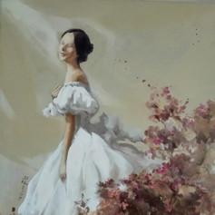 Joy  H 24in. x W 20in. x D .75in.   Oil on canvas