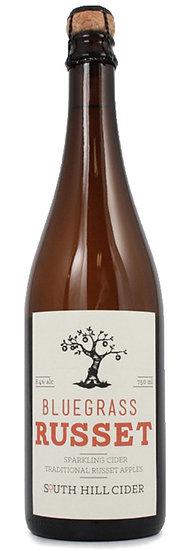 ブルーグラス ラセット 辛口 スパークリング林檎のシードル South Hill Bluegrass Russet Cider 750ml