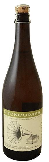 グリーニング 中辛口 スパークリング林檎のシードル Phonograph Cellars Greening Cider 750ml