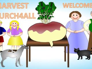 Church4All Harvest Festival: 2 Oct