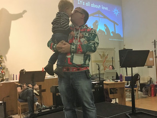 Christingle shows us it's all about love