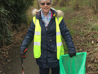 Cottingley cleans up!