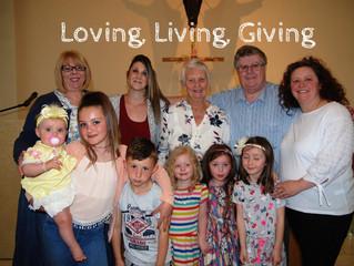 Loving, Living, Giving